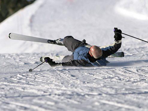 Skiunfall auf Tagung nicht unfallversichert