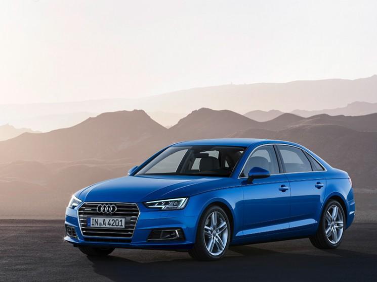 Audi A4: Fünf Sterne im Euro NCAP Test und Avant kommt als g-tron