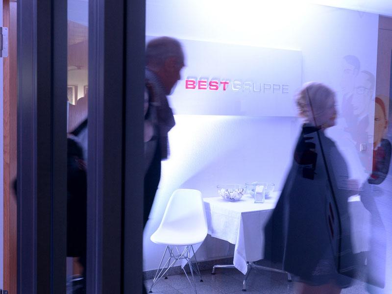 Vernissage bei BEST in Düsseldorf