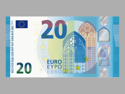 Die neuen 20-Euro-Noten kommen