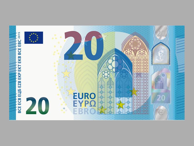 zwanzig euro schein