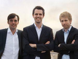 Das Gründerteam v.l.n.r.: Daniel Conradt, Robin Buschmann und Viktor Kraus