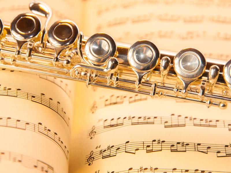 Flöte und Bögen für Gewinner