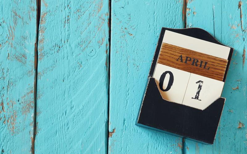 Änderungen zum 1. April