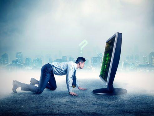 Verunsicherung digital