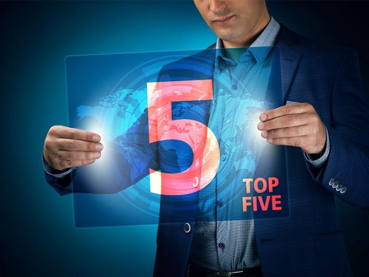 Die Top-5-Aktien im März