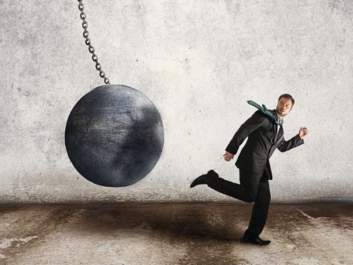 2,7 Prozent weniger Unternehmensinsolvenzen
