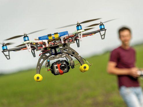 Drohnen: fliegendes Risiko