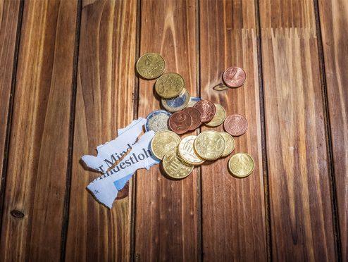 Mindestlohn: fast kein Spielraum für Arbeitgeber