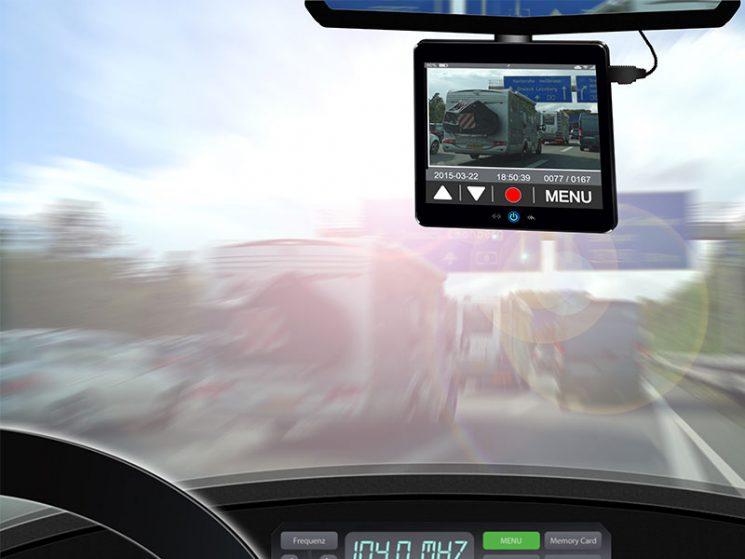 Dashcam-Videos sind zulässig