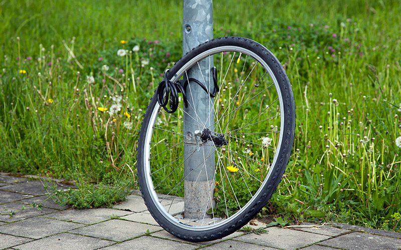 Fahrräder: Münster Klau-Hochburg Nr. 1