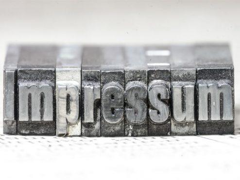 Impressum und Erstinfo schnell und sicher generiert