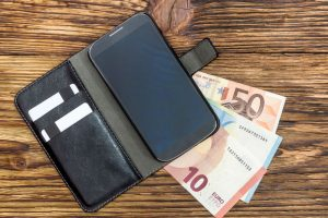 Bankkonto komplett mobil