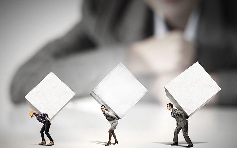 Mitarbeiter bilden die Zukunft des Mittelstands