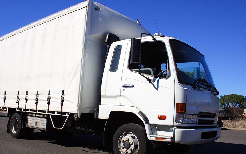 Kippgefährdet: leichte LKWs