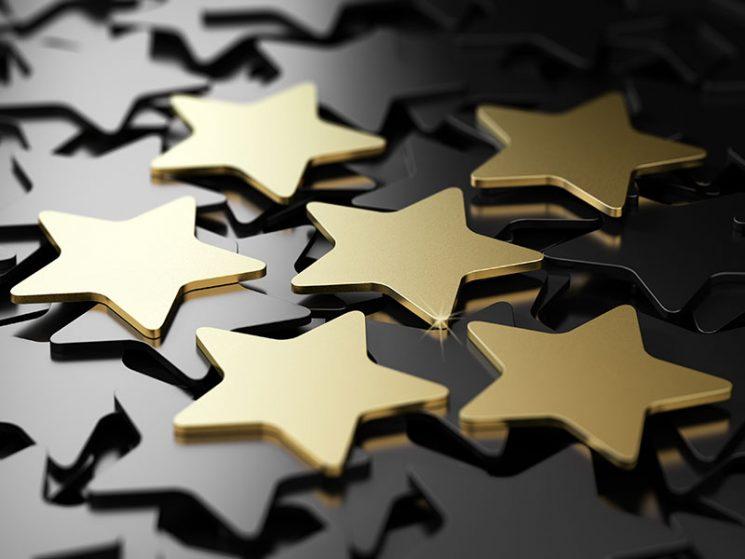 Sechs Sterne für Janitos Hausrat Best Selection