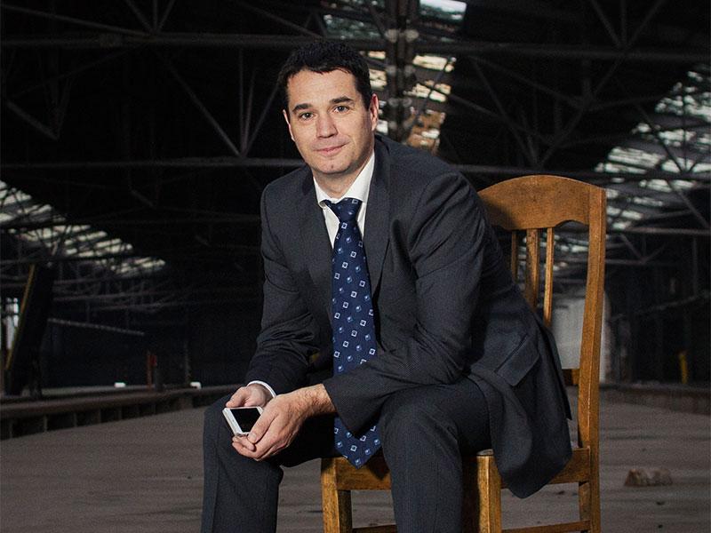 Oliver Pradetto, Geschäftsführer von blau direkt