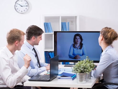 Meetings: Persönlich oder via Web?