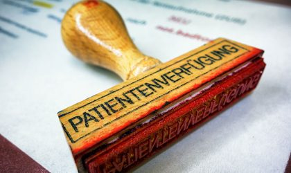 Patientenverfügung mit konkreten Behandlungsmaßnahmen