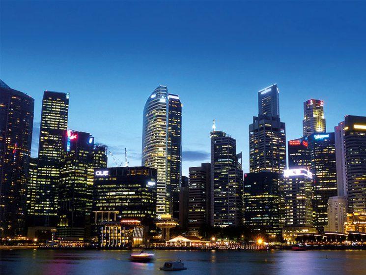Schulungszentrum für Schadenprävention in Singapur