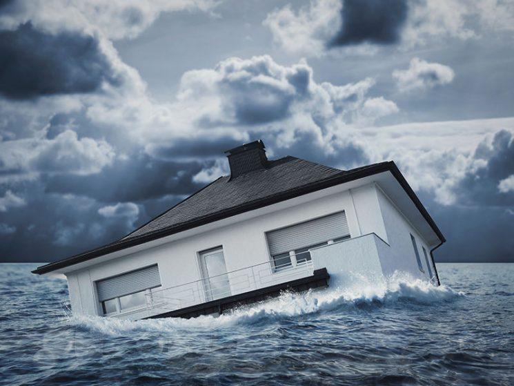Hochwasser? Trifft mich doch nicht!