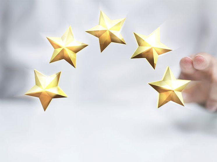 LV Rating: 5 Sterne für 8 Versicherer