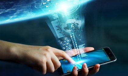 Präsenz der digitalen Kommunikation in Unternehmen