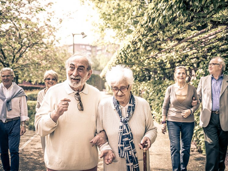 65- bis 85-Jährige zeigen sich zufrieden