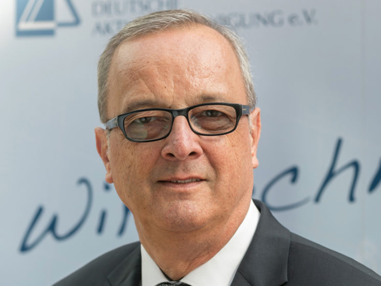 DAV: Roland Weber ist neuer Vorstandsvorsitzender