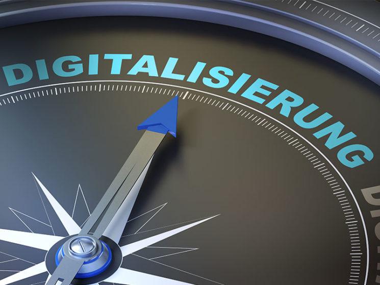 Auf dem Weg der Digitalisierung
