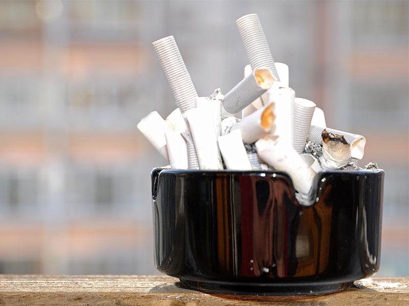 Kein Spaß: Rauchen nach Stundenplan