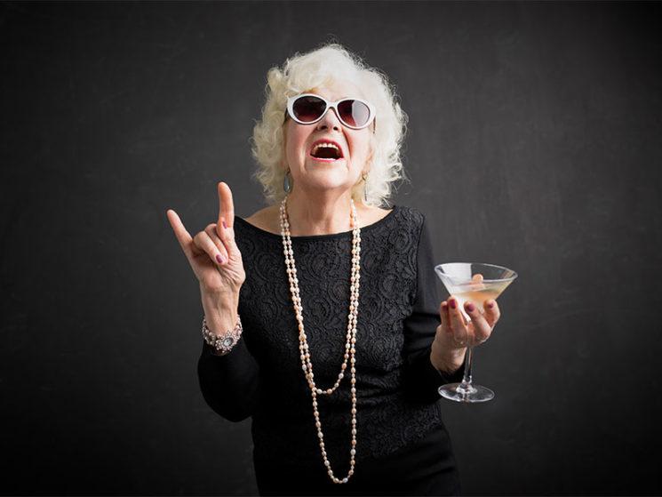 Senioren haben Freude am Konsum
