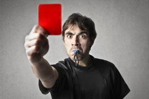 Rote Karte für die SPD