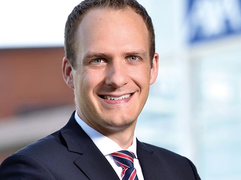 Tobias Pape, Direktor Internationale und Betriebliche Krankenversicherung AXA, Krankenversicherung AG