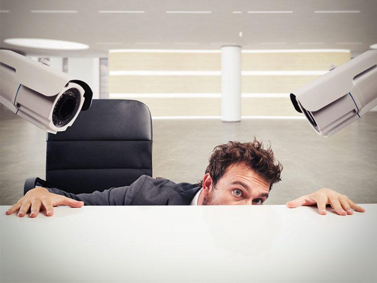 Spionage am Arbeitsplatz