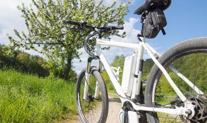 Das E-Bike gibt Gas
