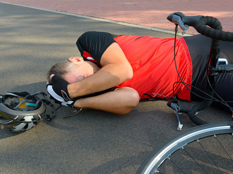 Haftungsfrage: Geisterfahrer auf dem Fahrradschutzstreifen?