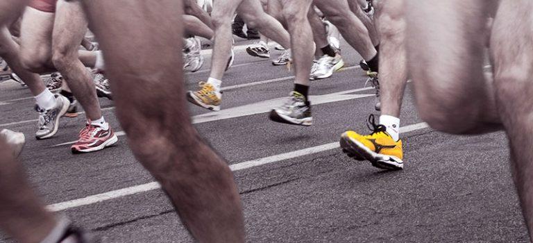Schutz- und Assistanceleistungen für Marathon-Läufer