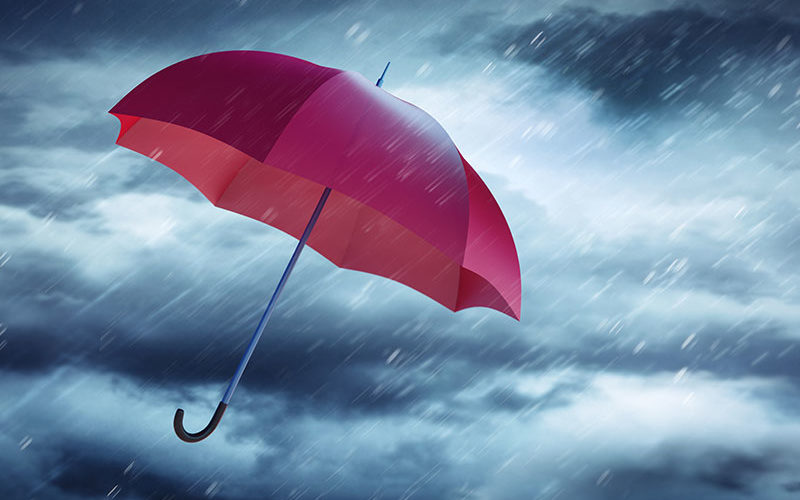 Wenn der große Regen kommt