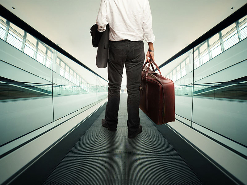 Trotz Digitalisierung: Dienstreisen auf Rekordwert