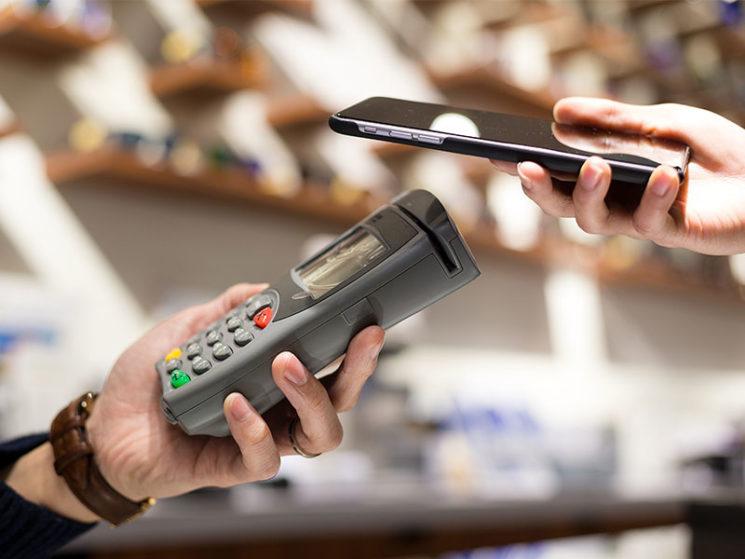 Kontaktloses Bezahlen im Aufwärtstrend