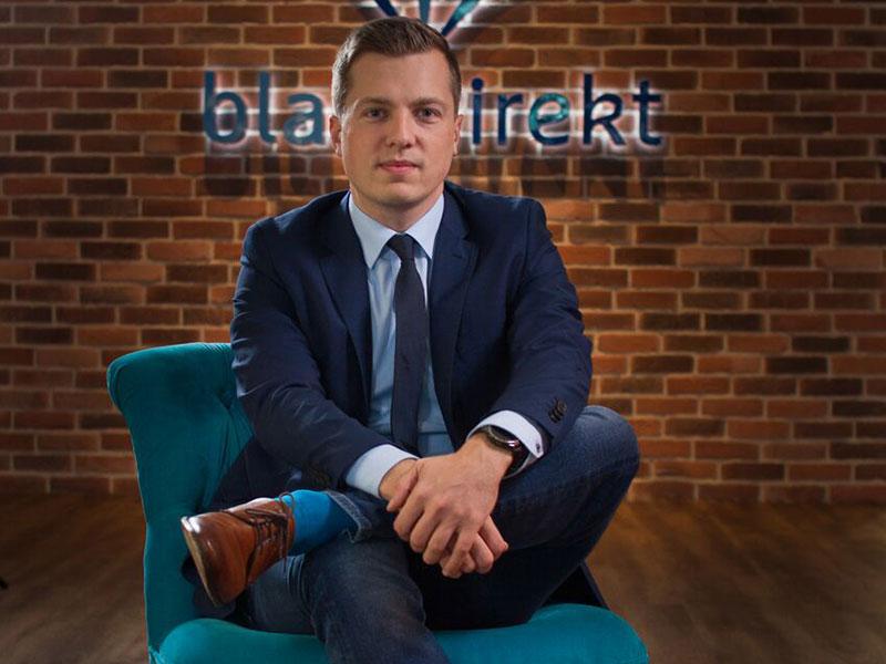 Marcel Canales, Prozessplaner und Geschäftsführer von blau direkt