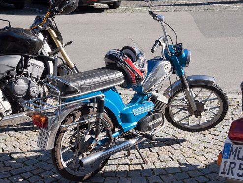 Neue Versicherungsschilder für Mopeds