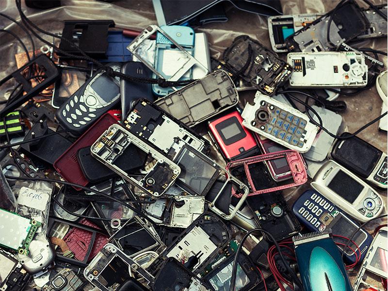 Anzahl der Alt-Handys stark gestiegen