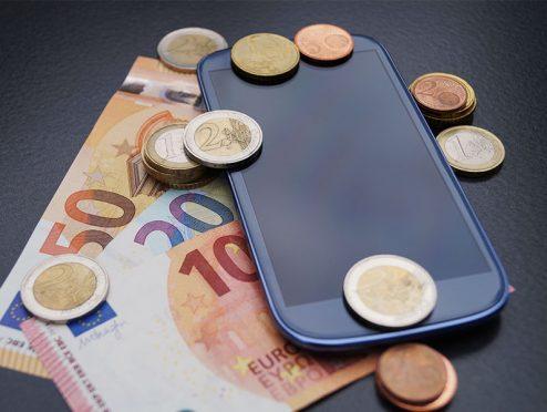 Transfer von Kleinbeträgen mit dem Smartphone