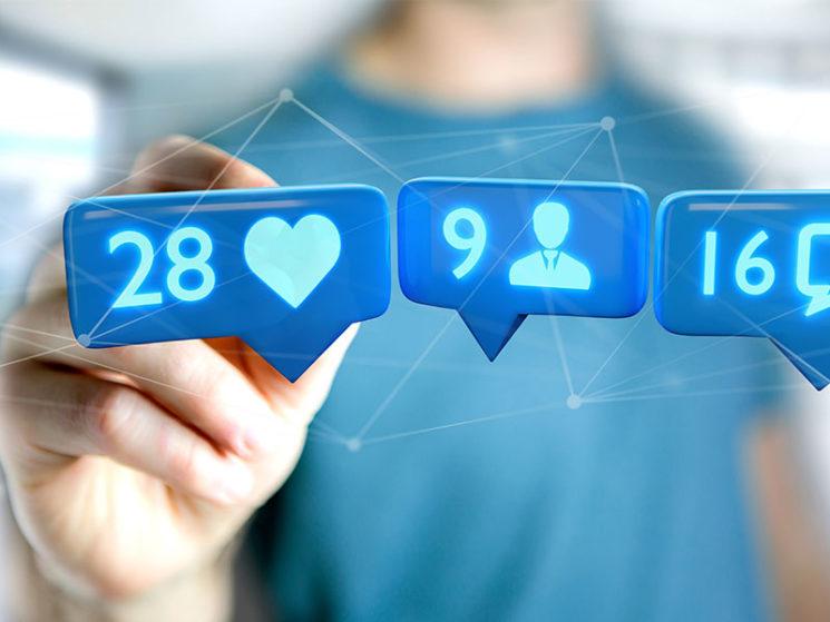Nutzung von sozialen Netzwerken