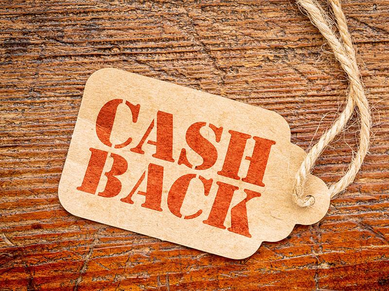 Cashback liegt im Trend