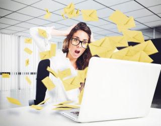 Trotz täglicher Flut: E-Mails bleiben die Nummer 1
