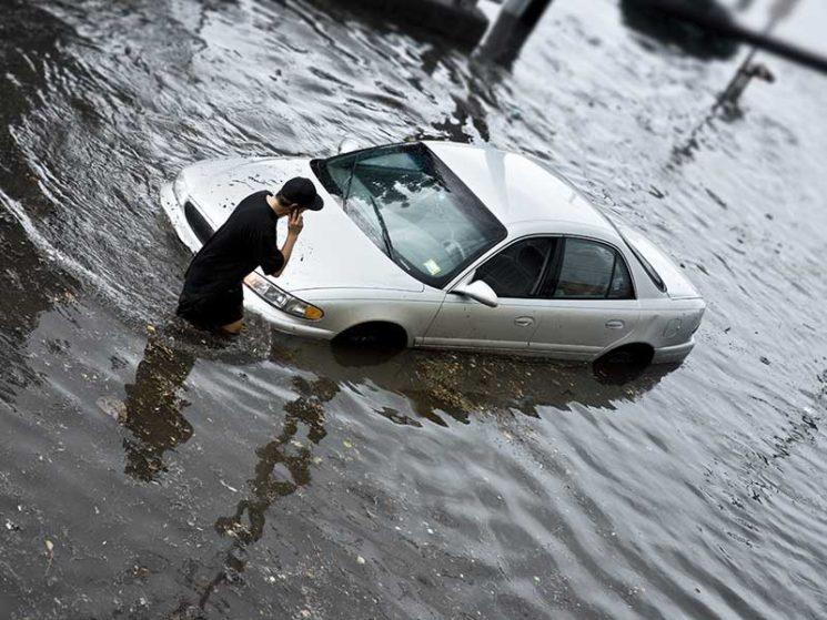 Leistung trotz Motorstart bei Überschwemmung