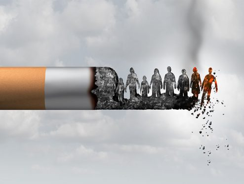 Zigaretten, Alkohol und mangelnde Bewegung kosten Lebenszeit